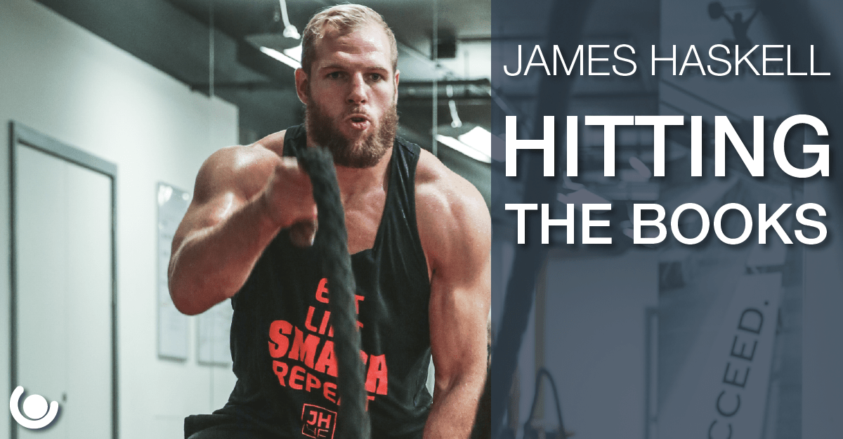 James Haskell – Hitting the Books